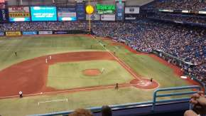 Tropicana Field is 24 years old, and needs to be replaced. (Courtesy of A View From my Seat)