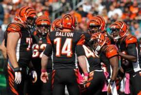 The Bengals currently lead the AFC North, and are in the NFL playoffs. (Courtesy of Bleacher Report)