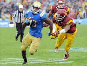 UCLA ended its losing streak to the Trojans on Saturday. (Courtesy of Go Joe Bruin)