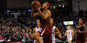 Tia Presley had a monster night vs. Gonzaga (Courtesy of WSUCougars.com)