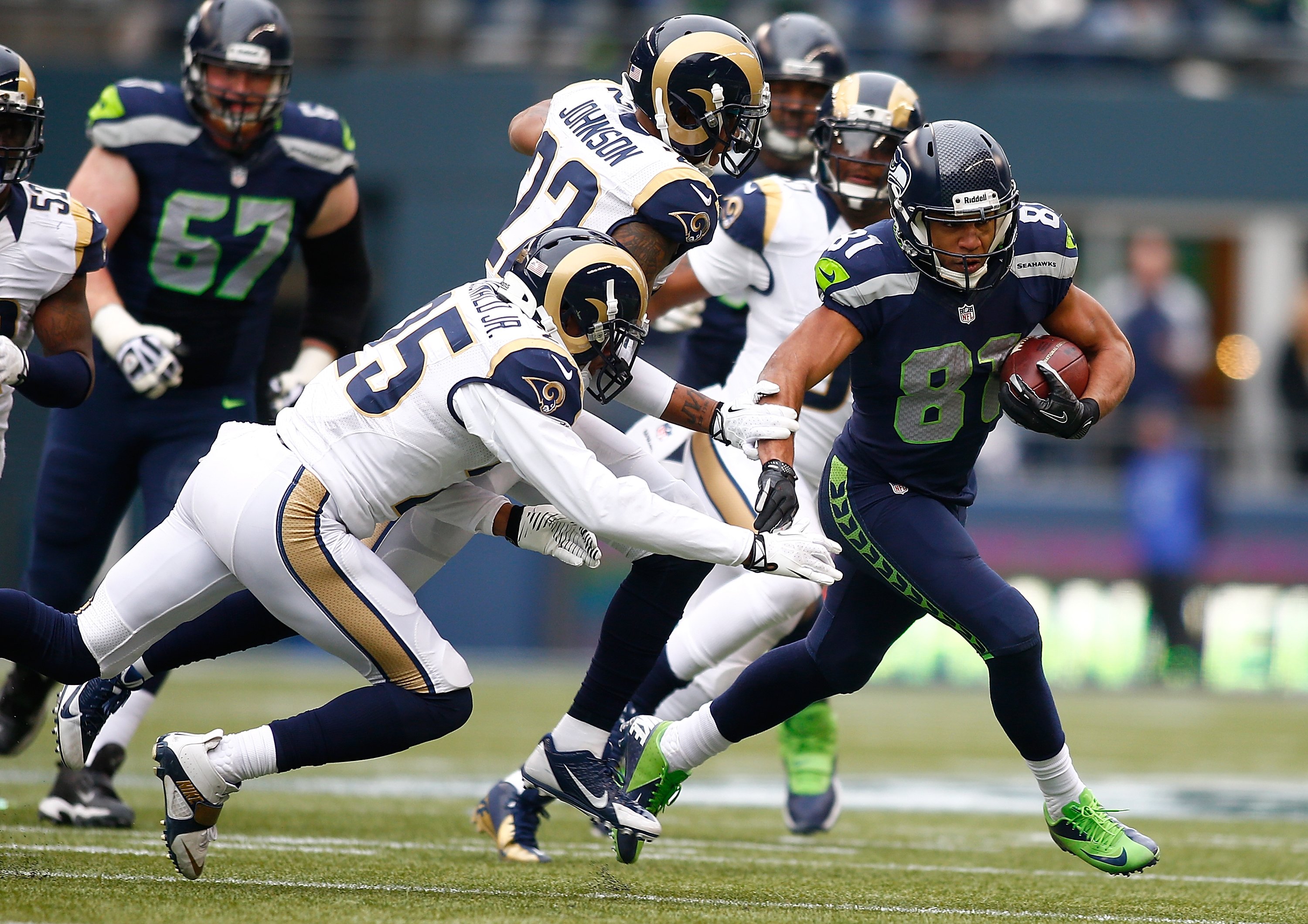 Seahawks wins NFC West, and No. 1 seed, with 20-6 victory