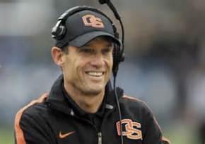 """Coach Riley takes his simle, and """"aw' shucks"""" attitude, to Lincoln, Neb. (Courtesy of GazettTimes)"""