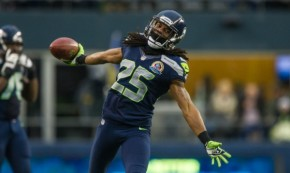 Sherman will be playing in the Super Bowl. Despite a dinged up shoulder. (Courtesy of Seahawks.com)