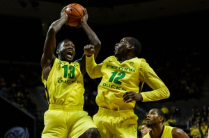 The Ducks are theoretically still in the hunt for a NCAA tournament berth. (Courtesy of the Daily Emerald)