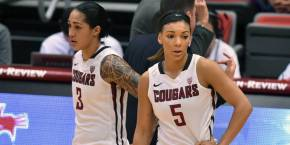 Galdeira and Presley scored a combined 49 points on Thursday. (Courtesy of WSUCougars.com)