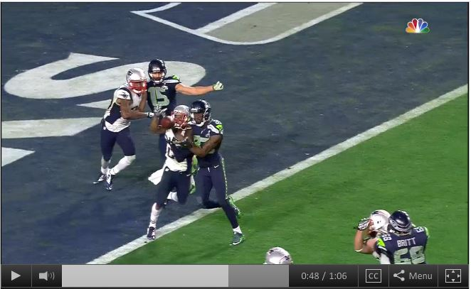 Lockett and Butler collide