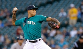 Taijuan Walker has struggled early on in 2015. (Courtesy of USA Today Sports)
