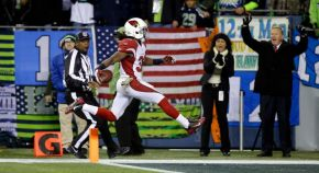 48 of Ellingto's 61 yards came on the game's final touchdown. (Elaine Thompson, AP)