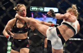 Holly Holm shocked the UCF world on Saturday night. (Getty Images)